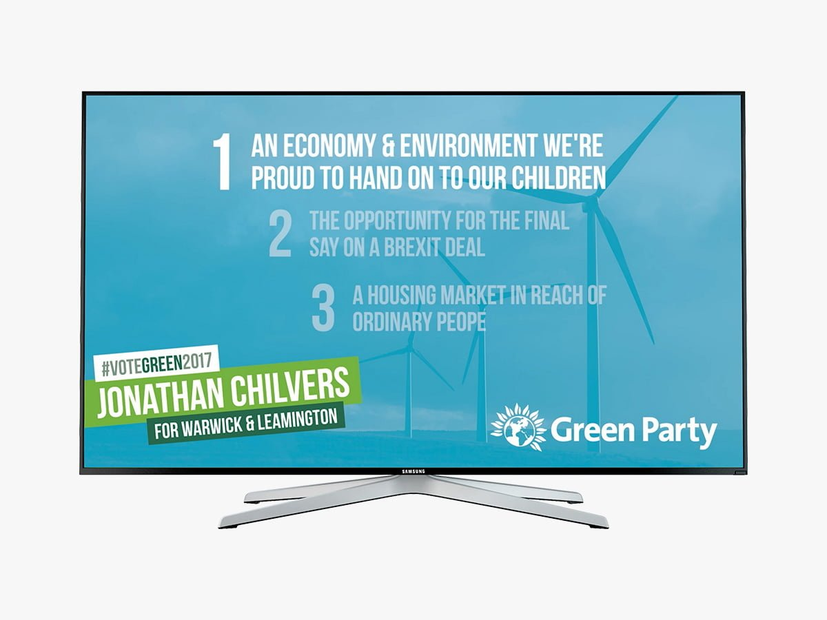 Green Party video