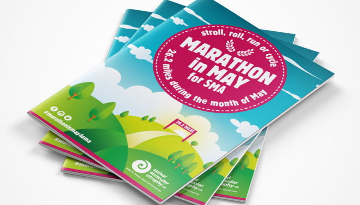 Read more about 'Marathon in May' fundraising campaign materials for SMA UK
