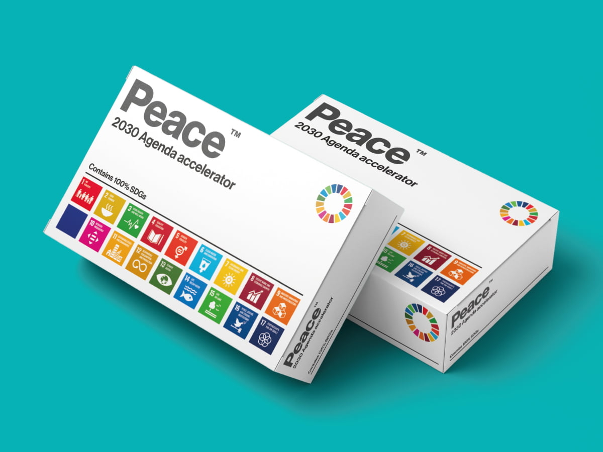 Peace is the cure box shot